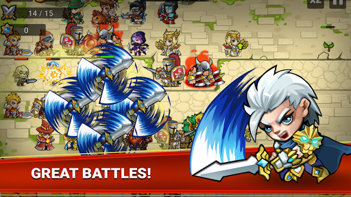 Defense Heroes: Defender War Tower Defense Offline apkmartins screenshots 1