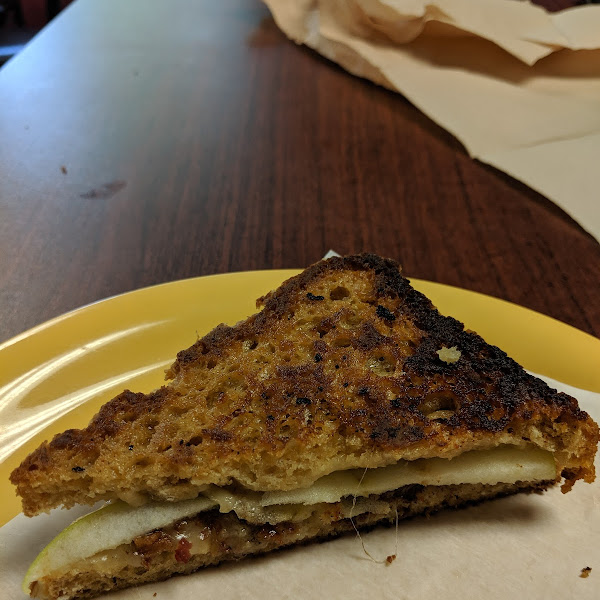 Gluten Free ABC Grilled Cheese