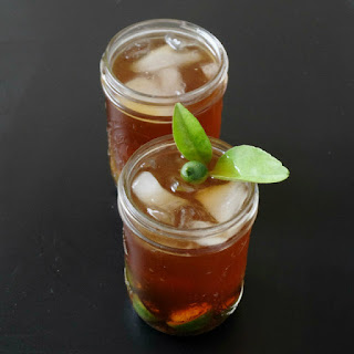Lemon Infused Cold Brew Coffee.