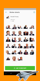 World Leaders Sticker Pack for WhatsApp 2