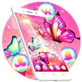 Gorgeous Pink Butterfly Theme
