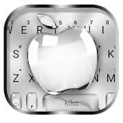 Free Silver Crystal Apple Keyboard Theme APK for Windows 8