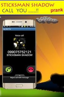 Sticksman Shadow Calling - náhled