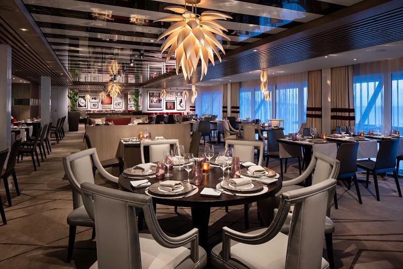 Luminae, the 92-passenger restaurant reserved for Celebrity's Suite Class.