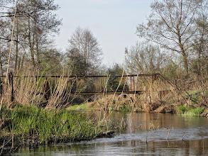 Photo: 58,2 km Kurzeszynek kładka przez rzekę