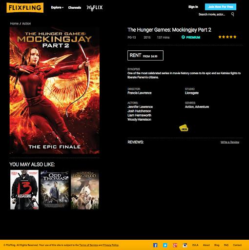 FlixFling - Streaming Movies and Music 2.40.6 screenshots 2