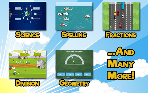 Fourth Grade Learning Games apklade screenshots 2
