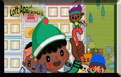 Run Toca Adventure Life Town - náhled