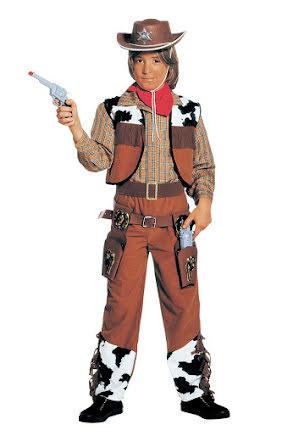 Cowboydräkt, barn