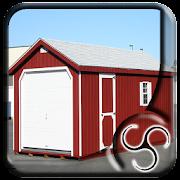 Portable Wood Garage
