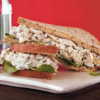 Herbed Chicken Salad Sandwiches.