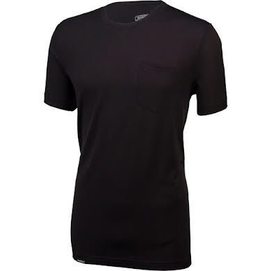 Surly Merino Pocket T-Shirt: Black
