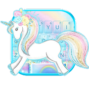App Rainbow Cute Unicorn Keyboard Theme APK for Windows Phone