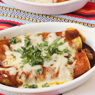 Cheesy Sausage Enchiladas