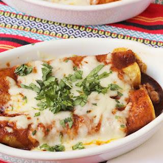 Cheesy Sausage Enchiladas.