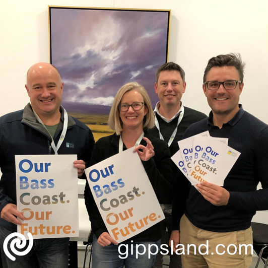 Mayor, Cr Brett Tessari, and members of our Executive Leadership Team, Jodi Kennedy, Christian Stefani and James Stirton are keen to hear your thoughts on the future of Bass Coast Shire