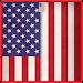 USA Flag Zipper Screen Lock icon