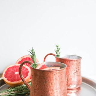 Grapefruit-Rosemary Mule.