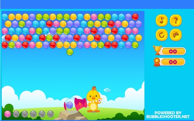 Happy Bubble Shooter Game
