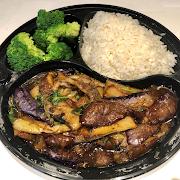 Braised Eggplant Combo