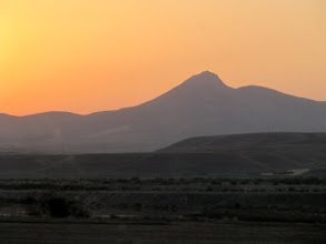 Photo: Day 131 - Sunrise Viewed from the Coach (Northern Turkey) #2