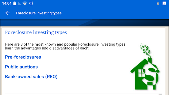 Foreclosure Investing course- screenshot thumbnail