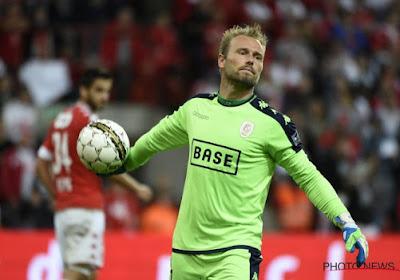Grote boeman Jean-François Gillet staat in doel bij Standard tegen Anderlecht