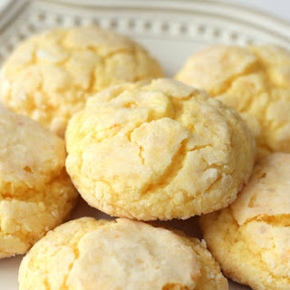 Gooey Butter Cookies Without Cake Mix Recipes.