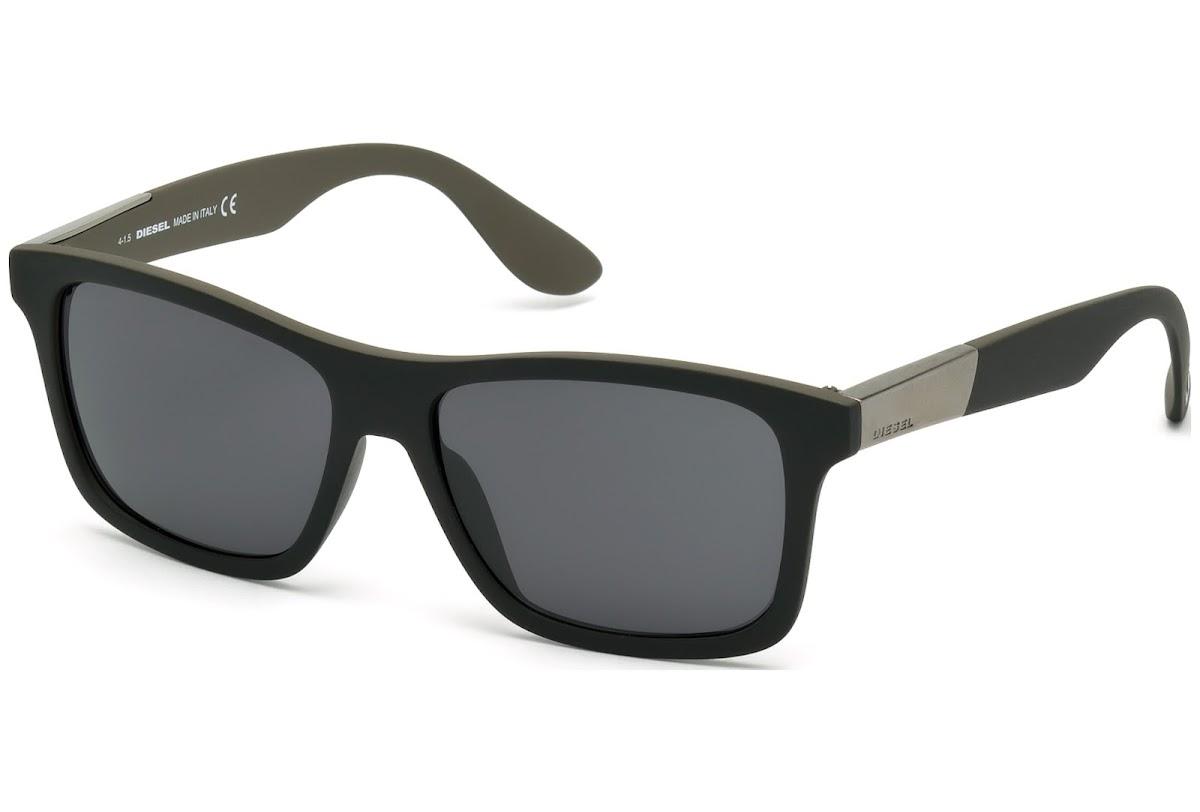Comprar Gafas de sol Diesel DL0184 C56 05C (black other   smoke mirror)    opti.fashion 8baedad5af