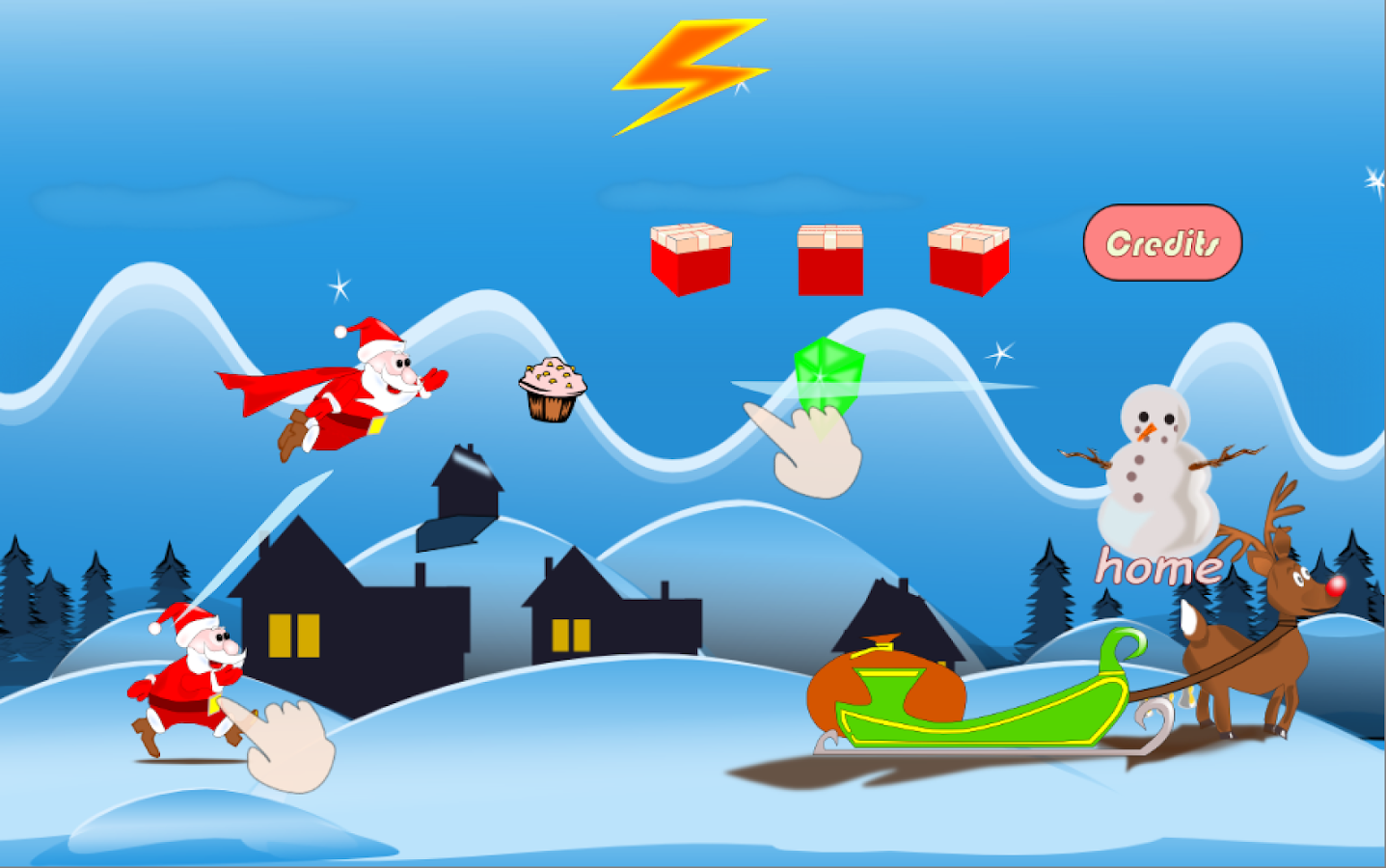 Super Santa- screenshot