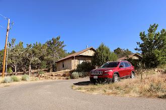 Photo: Ons huisje in de Zion Mountain Ranch