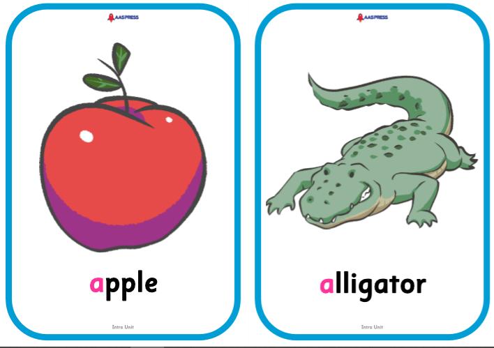 APA1_Intro_Unit_apple_alligator
