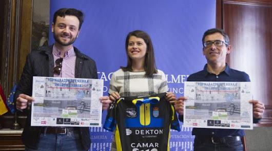Diputación apoya la VIII Maratón BTT Sierra de los Filabres