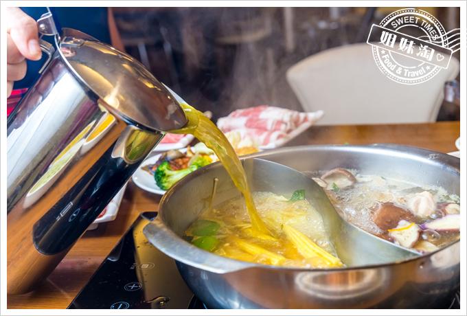 上竹林食草館養生汆燙鍋-加湯