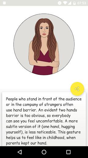 Body language - Trick me. Analyzing of Gestures 9.0 screenshots 4