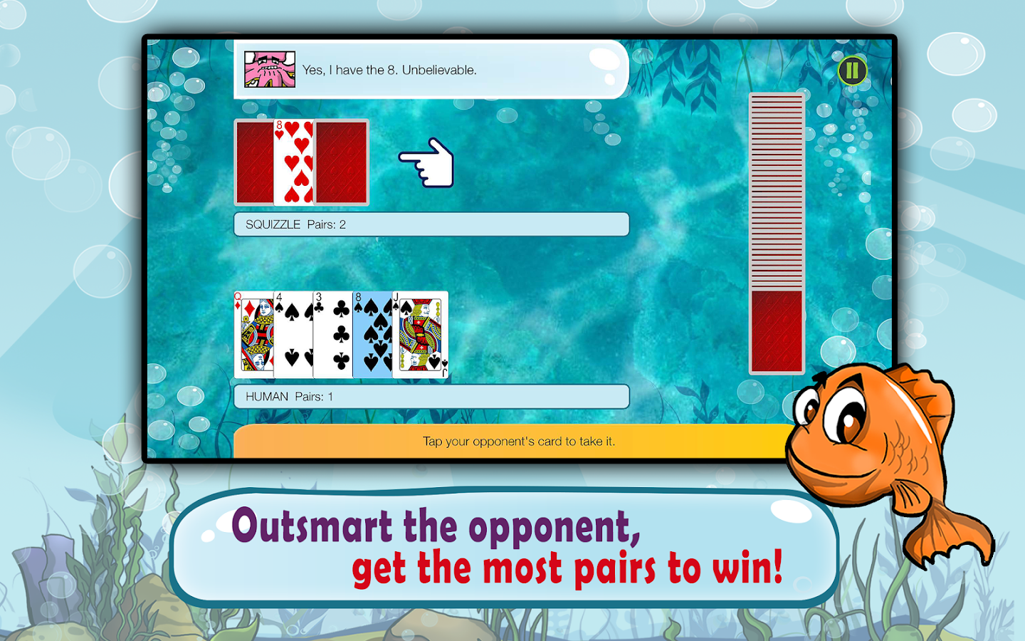 Go fish kids card game free android apps on google play for Go fish games