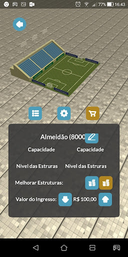 Mitos Soccer Manager 2019 screenshot 4