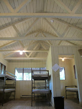 Photo: Yoki Cabin Interior Each cabin contains 4 bunks and one single bed (in a single room, pictured on right)