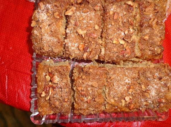 Cardinal Apple Spice Cake Recipe