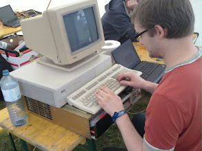 Photo: very old but working computer