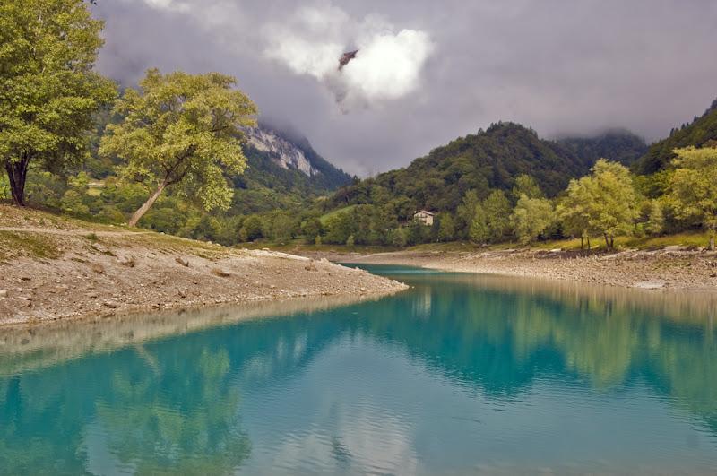Lago di montagna di Croatti Carlo