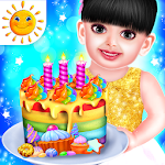 Baby Aadhya Birthday Cake Maker Cooking Game icon