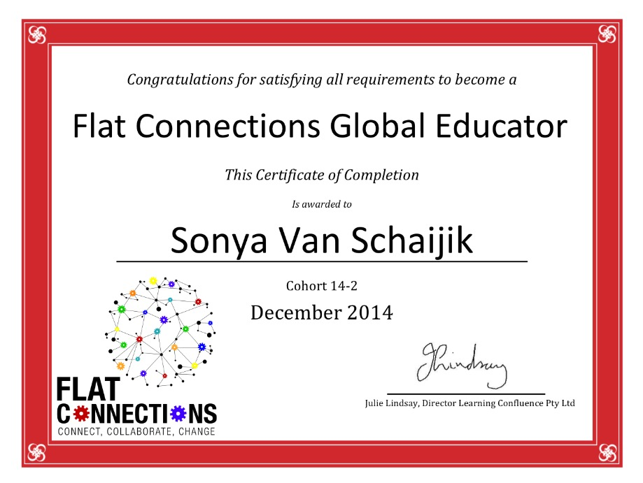 Flat Connections Global Educator
