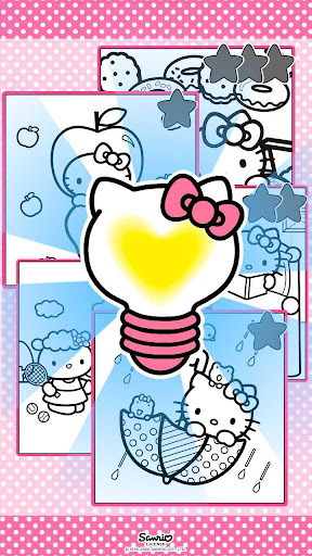 Color by Number with Hello Kitty apktram screenshots 4