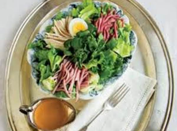 Chef's Salad With Creamy Mustard Dressing Recipe