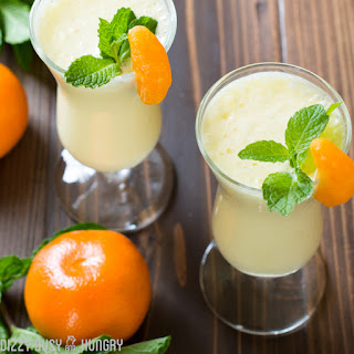 Pineapple Orange Smoothie #SundaySupper.