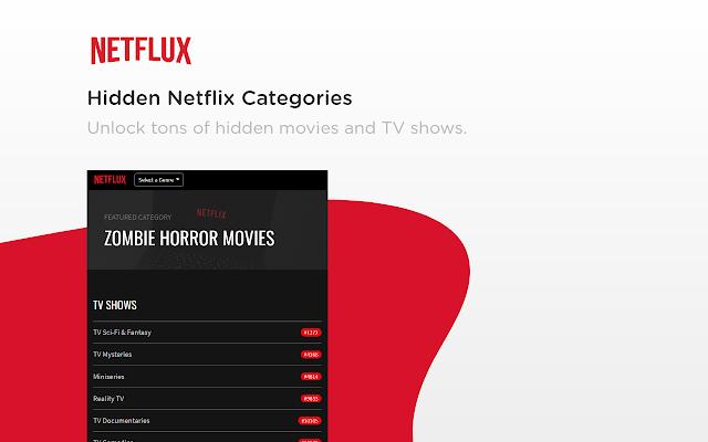 Netflux: Hidden Categories on Netflix