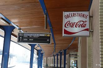 Photo: 82 minuten = 136 % verspätung von wien nach bratislava