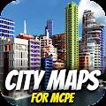 City maps for MCPE. Modern city map. APK