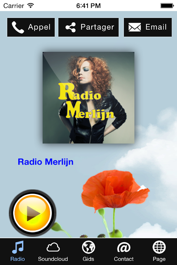 Radio Merlijn- screenshot